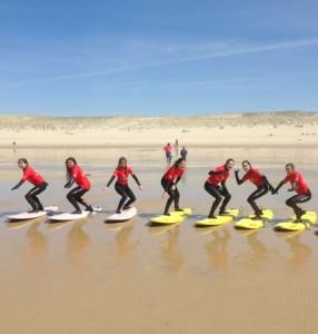 Surfing Cap Ferret - Surf Club de la Presqu'ile