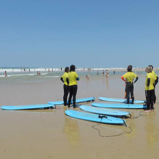 stage 4 jours, Surfing Cap Ferret