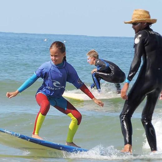 Stage découverte,  Surfing Cap Ferret