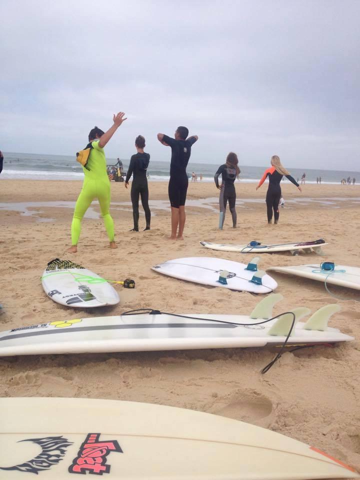 Stage préparation Championnats d'Aquitaine - Surfing Cap Ferret - Surf Club de la Presqu'ile