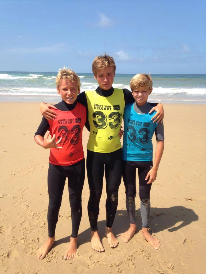 3ème étape du Critérium des Jeunes à Lacanau Océan - Surfing Cap Ferret - Surf Club de la Presqu'ile