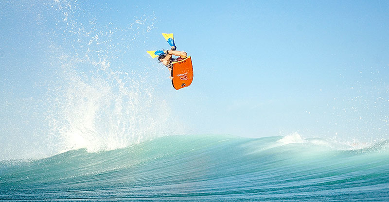 Bodyboard - Surfing Cap Ferret - Surf Club de la Presqu'ile