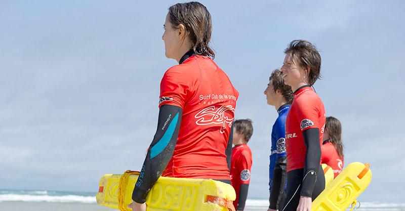 Sauvetage cotier - Surfing Cap Ferret - Surf Club de la Presqu'ile
