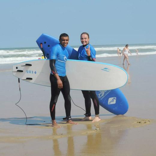 Licence pratiquant, Surfing Cap Ferret